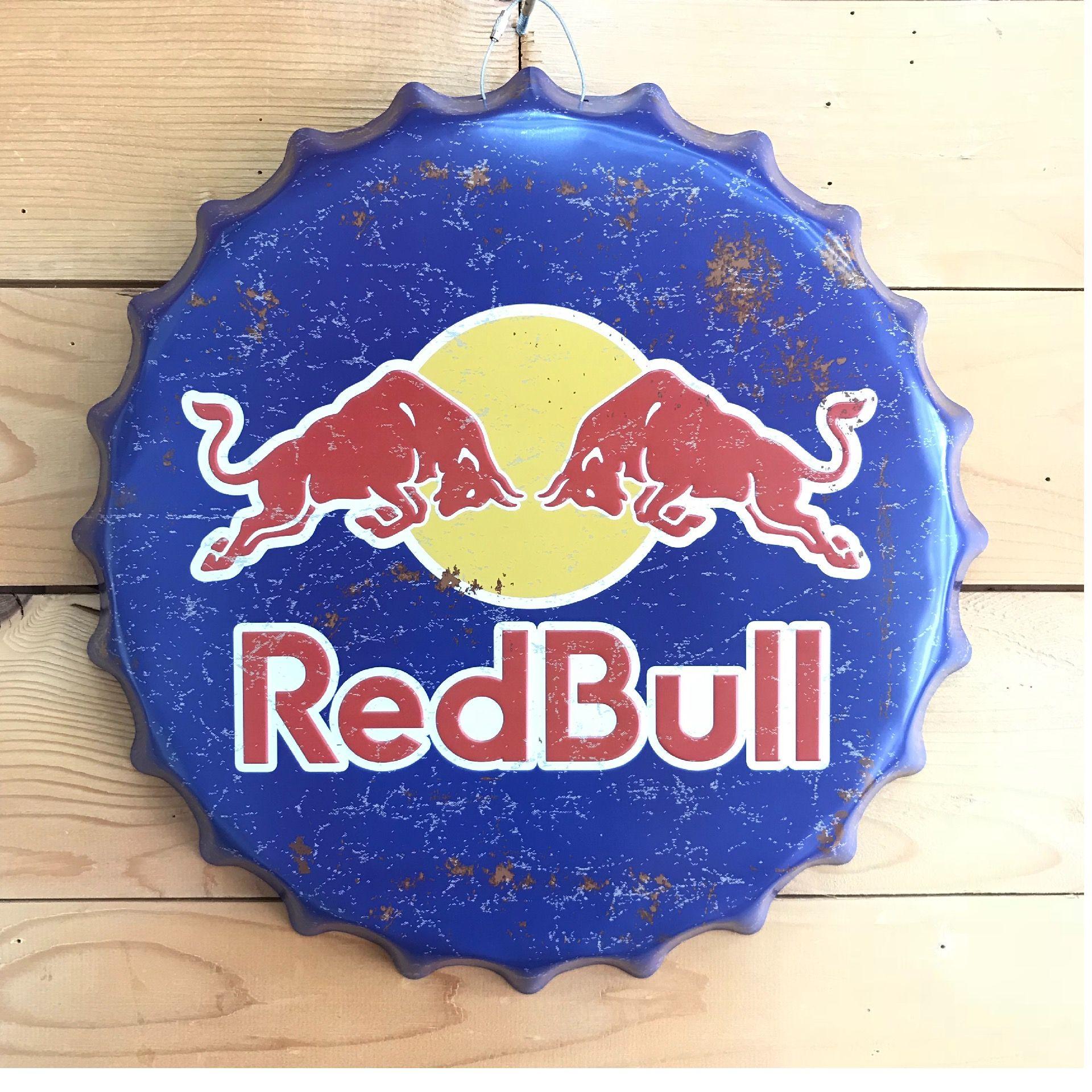 Chapa Red Bull.