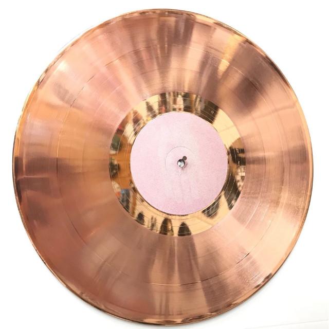 Disco oro rosa