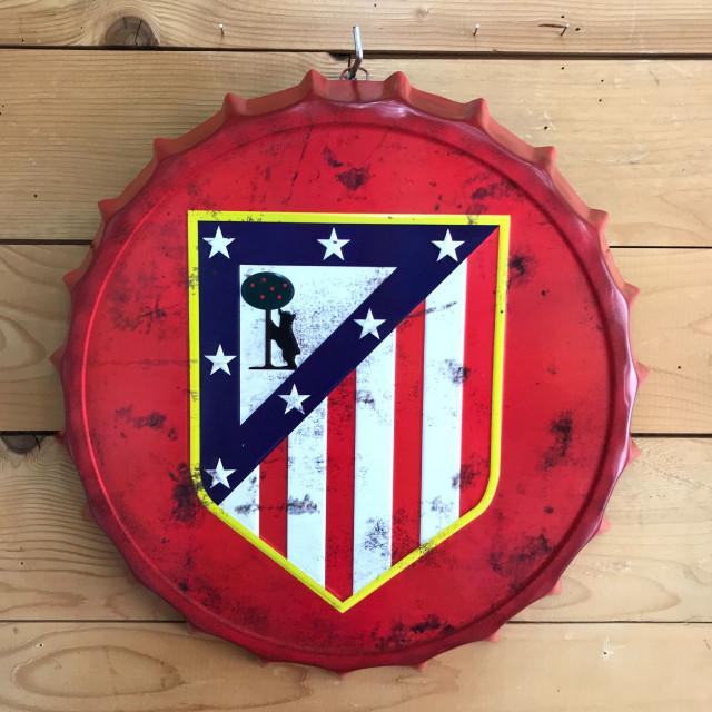 Chapa atletico de Madrid